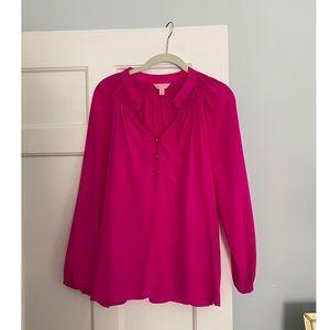Rare Lilly Pulitzer Elsa blouse